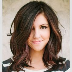 long straight bob with texture - Google Search