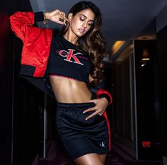 Here are all the photos of Disha Patani wearing Calvin Klein bikini and undergarments - see this Bollywood actress raising heat with these bold photos. Top 10 Bollywood Actress, Bollywood Celebrities, Bollywood Fashion, Bollywood Girls, Indian Celebrities, Disha Patani Photoshoot, Calvin Klein Store, Calvin Klein Bikinis, Disha Patni