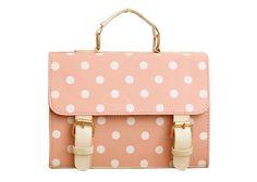 Fashion Women Lady Designer Polka dot Satchel Shoulder Bag Purse Handbag Tote BagBags   RoseGal.com