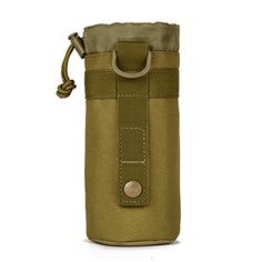 Ultrafun Tactical Water Bottle Holder Pouch Molle Hydration Carrier Holster Nylon Sleeve (Coyote Brown) *** You can find more details by visiting the image link. http://www.amazon.com/gp/product/B01N76CYFV/?tag=gadgets3638-20&pza=031216143840
