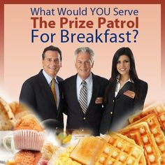 PCHLotto says.....What delicious breakfast dish would you cook for them? #PCH #Food