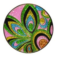 New! Loudmouth Golf Pink Shagadelic Ball Marker by Navika