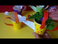 DIY Watering Can Flowers | krokotak