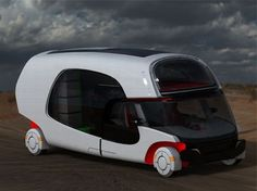 Caravans to pimp your adventures with luxurious comfort | Designbuzz : Design ideas and concepts