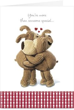 Cardstore makes it easy to personalize and mail happy birthday cards like Boofle Hug card. Just add your own photos, text and a signature to a sweet happy birthday cards and we'll mail it for you! Boofle Bear, Hugs And Cuddles, Love Hug, Holly Hobbie, Happy Birthday Cards, E Cards, Vintage Books, Cuddling, Dolls