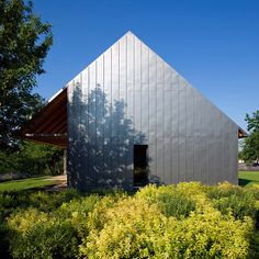 Modern metal clad farmhouse by Budapesti Muhely, Hungary
