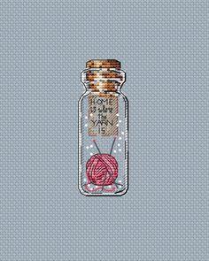 """Yarn"" counted cross-stitch pattern by Irina Konoplich (designer) and LoLaLotta. Modern Cross Stitch Patterns, Counted Cross Stitch Patterns, Cross Stitch Designs, Cross Stitch Embroidery, Hand Embroidery, Cute Cross Stitch, Cross Stitch Kits, Crochet Cross, Filet Crochet"