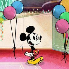 Mickey Mouse by Paul Rudish Minnie Y Mickey Mouse, Mickey Mouse Shorts, Mickey Love, Mickey And Friends, Disney Mickey, Disney Parks, Mickey Mouse Drawings, Mickey Mouse Wallpaper, Disney Drawings