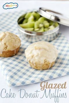 Glazed Cake Donut Muffins Recipe. So delicious you wont' miss donuts!