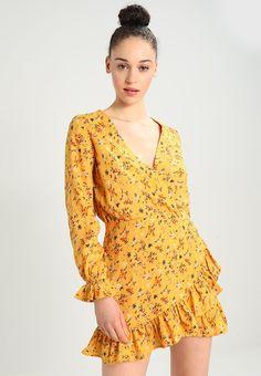 Bik Bok DONNA - Korte jurk - yellow - Zalando.nl