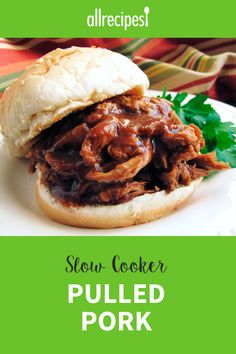 Using root beer to season slow cooked pork tenderloin makes a novel, yet tasty preparation method guaranteed to win applause. Pulled Pork Recipe Slow Cooker, Slow Cooked Pork, Pulled Pork Recipes, Crock Pot Slow Cooker, Slow Cooker Chicken, Slow Cooker Recipes, Crockpot Recipes, Cooking Recipes, Deep Dish Lasagna Recipe