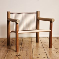 London Design Festival 2011: designer Max Lamb has created a series of furniture made entirely from standard wooden dowels.