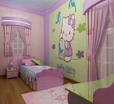 Hello Kitty Bedrooms For Girls . Part 52