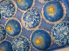 Constellation and sun cakes