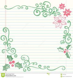 Hand-Drawn Sketchy Doodle Christmas Holly - Download From Over 51 Million High Quality Stock Photos, Images, Vectors. Sign up for FREE today. Image: 17267542