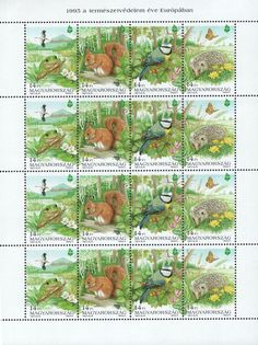 #3495a Hungary - European Nature Conservation Year M/S (MNH)