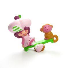 Raspberry Tart with Rhubarb PVC Strawberry Shortcake Figurine