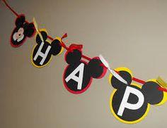 Resultado de imagen para letras de cumpleaños de mickey mouse