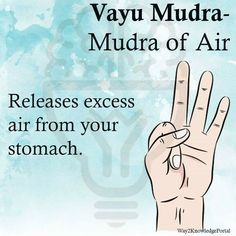 Vayu Mudra Mudra of air Releases excess air from your stomach massage management Meditation Musik, Chakra Meditation, Kundalini Yoga, Pranayama, Yoga Mantras, Hand Mudras, Qi Gong, Types Of Yoga, My Yoga
