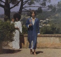 Mick Jagger and Marsha Hunt, 1971