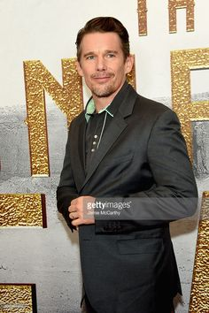 Actor Ethan Hawke attends 'The Magnificent Seven' premiere at the Museum of Modern Art on September 19, 2016 in New York City.