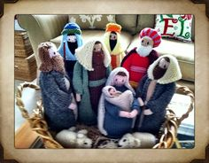 Knitted Nativity!