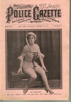 The National Police Gazette January 21, 1911