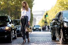 2016春夏時裝週街拍特輯:帶妳領略法式巴黎最 Chic 的穿搭