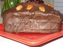 Polish Chocolate-Covered Gingerbread Cake - Piernik -  I may have to try this someday!