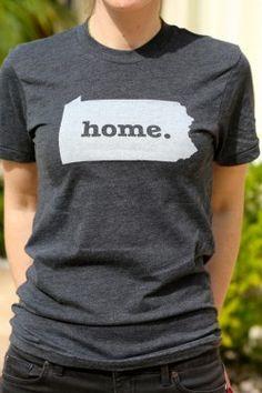 Pennsylvania Home Tee $25.00
