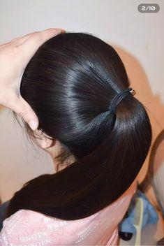 Long Ponytail Hairstyles, Long Hair Ponytail, Straight Hairstyles, Cool Hairstyles, Indian Hairstyles, Long Silky Hair, Long Hair Cuts, Beautiful Long Hair, Gorgeous Hair