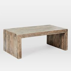 Emmerson(R) Reclaimed Wood Coffee Table, Reclaimed Gray Reclaimed Wood Coffee Table, Walnut Coffee Table, Rustic Coffee Tables, Coffee Table With Storage, Coffee Table Design, Round Coffee Table, Wood Table, Coffee Table West Elm, Grey Wood Coffee Table