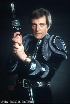 Happy birthday, Paul Darrow! The photo is Paul as Avon in Blake's 7 and see him in #DoctorWho@ http://bbc.in/1nPEg7j