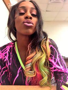 You go Naomi I see you.