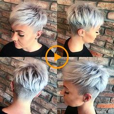 Undercut Pixie hair The post 30 Best Short Pixie Hairstyles 2018 appeared first on Best Pins for Yours - Woman Fashion Funky Short Hair, Short Hair With Layers, Short Hair Styles, Short Hair Cuts For Women With Thick, Pixie Cut Styles, Very Short Hair, Pixie Cut Mit Undercut, Short Hair Undercut, Haircut Short