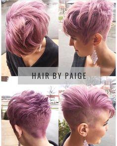 "2,523 Likes, 15 Comments - @shorthair_love on Instagram: ""@positivekelly Hair by @___psplicbeauty #shorthairlove #haircut #hairstyle #hair #shorthair…"""