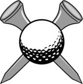 Golf Club and Ball Clip Art   Golf - stock illustration clip art. Buy royalty free clipart images on ...