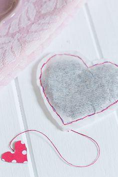 DIY Teebeutel, Valentinstag