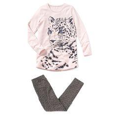 Pijama em jersey estampado R Teens | La Redoute