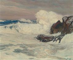 The Spell of the Sea, oil, Frederick Judd Waugh
