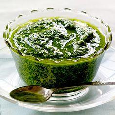 Watercress Pesto.