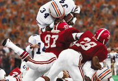 Bo over the top! One of the best plays in Auburn football history!!!!! WAR EAGLE