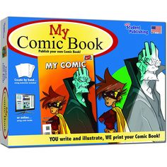"My Comic Book Kit - Creations by You - Toys ""R"" Us"