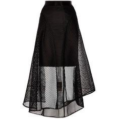 Coast Elin Mesh High Low Skirt