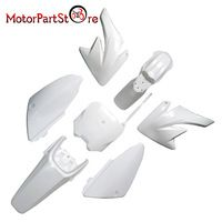 Plastic Body Fender Shell Cover Guard Fairing Kit for Honda CRF70 CRF 70 Motorcycle Pro Trail Pit Dirt Bike Racing Accessories *