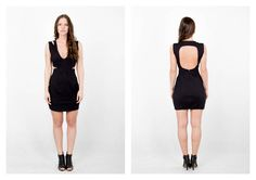 PARADOX SS15 'Details' Collection Black dress - 19.000HUF