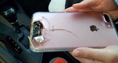 Las Vegas massacre: Woman claims she was saved by her Apple iPhone 7 Plus Iphone 5s, Iphone 7 Plus, Apple Iphone, Las Vegas, Save Her, Trending Videos, Bullet, Smartphone, Take That