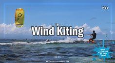 Is wind kiting on your bucket list? #bucketlist #bucketlistideas #blf #kitesurfing