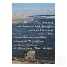 By the Sea Wedding Invitations