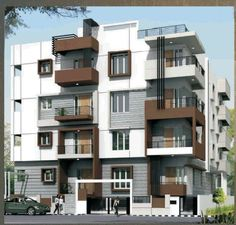 Modern Apartment Exterior Design An Online Complete